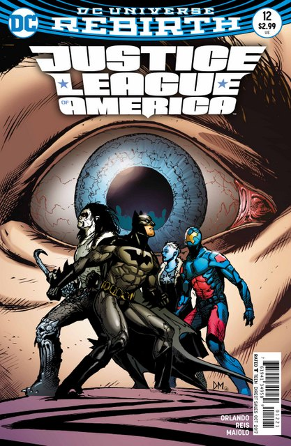 Justice League of America #12 variant cover