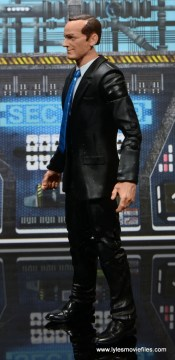 Marvel Legends Avengers Initative figure review - Agent Coulson left side