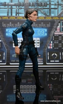 Marvel Legends Avengers Initative figure review -Maria Hill right side