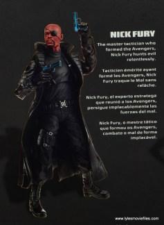 Marvel Legends Avengers Initative figure review -Nick Fury bio