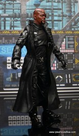 Marvel Legends Avengers Initative figure review - Nick Fury right side