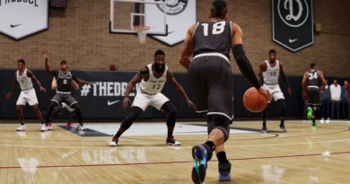 NBA Live 18 – first take on free demo mode The Rise