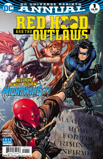 Red Hood and the Outlaws Annual #1 cover