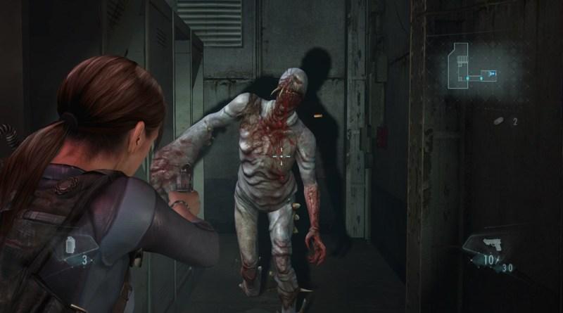Resident_Evil_Revelations_XB1_PS4 - Jill shooting