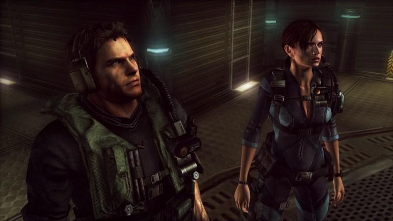 Resident_Evil_Revelations_XB1_PS4_- Chris Redfield and Jill Valentine