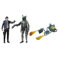 STAR WARS 3.75-INCH DELUXE FIGURE 2-PACK Assortment (Han Solo & Boba Fett)