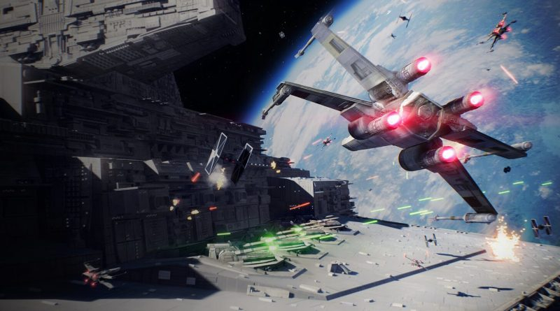 Star Wars Battlefront II Starfighter Assault
