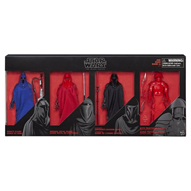 Star Wars Black Series 6 Inch Guardians of Evil 4 Pack Protective Display Case