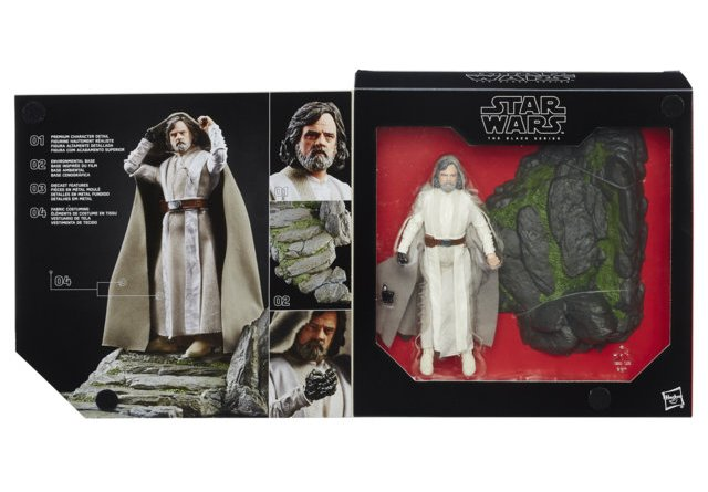 Star Wars The Black Series 6-Inch Luke Skywalker - Jedi Master - Ahch-To Island