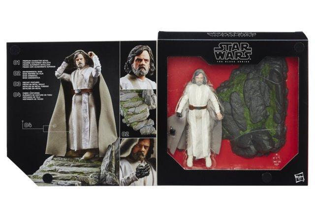 Star Wars The Black Series 6-Inch Luke Skywalker - Jedi Master - Ahch-To Island