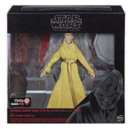 Star Wars The Black Series 6-Inch Supreme Leader Snoke Figure and Throne - in pkg