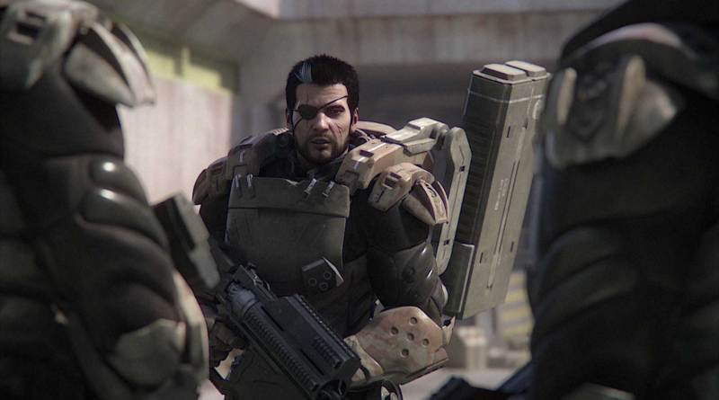 Starship Troopers: Traitor of Mars - Rico ready for fight