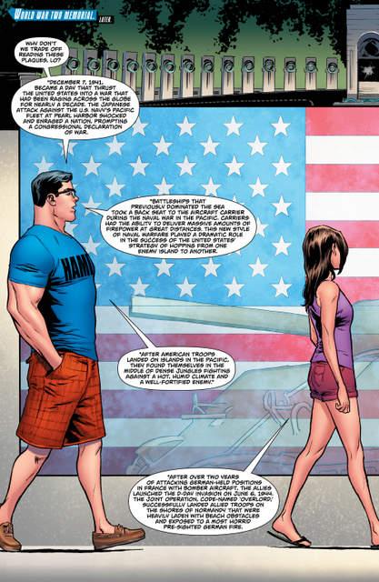 Superman #28 interior art