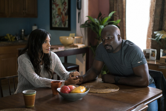 The Defenders - The Defenders review -Claire and Luke Cage