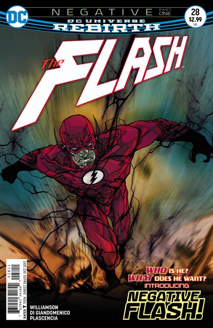 The Flash #28 cover