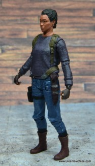 The Walking Dead Sasha figure review -left side