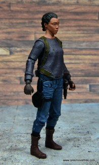 The Walking Dead Sasha figure review -right side