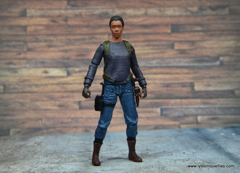 The Walking Dead Sasha figure review -wide pic