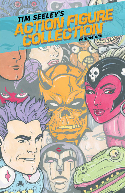 Tim Seeley's Action Figure Collection Vol. 1 trade review