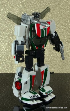 Transformers Masterpiece Wheeljack figure review -bot mode right side