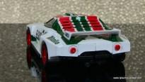 Transformers Masterpiece Wheeljack figure review -vehicle mode rear