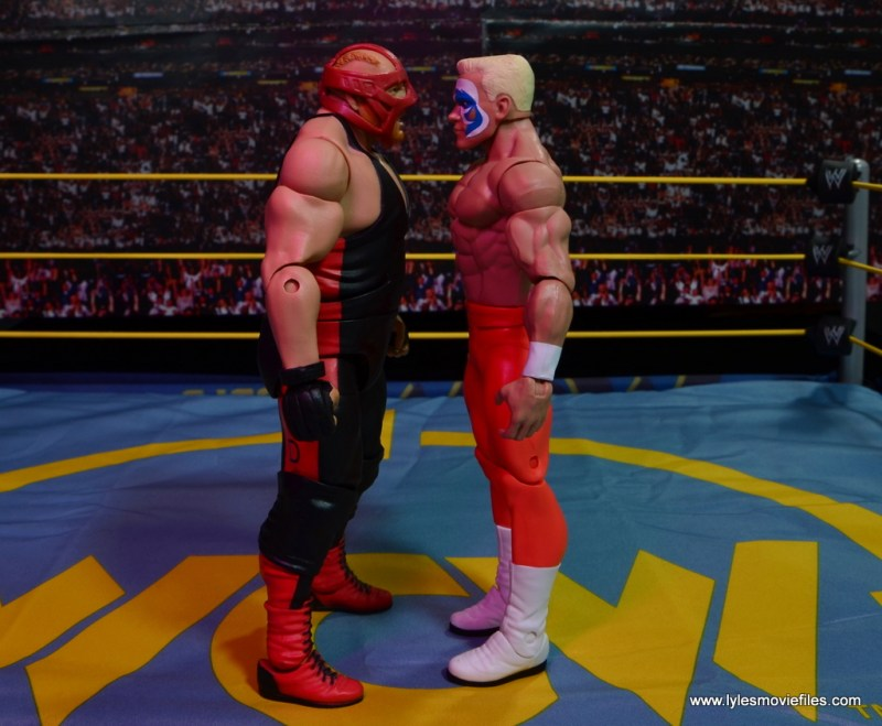 WWE Basic Surfer Sting figure review -face off with Vader