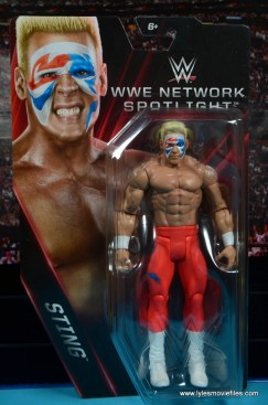 WWE Basic Surfer Sting figure review - package front