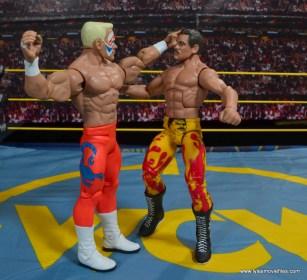WWE Basic Surfer Sting figure review -punching Ravishing Rick Rude