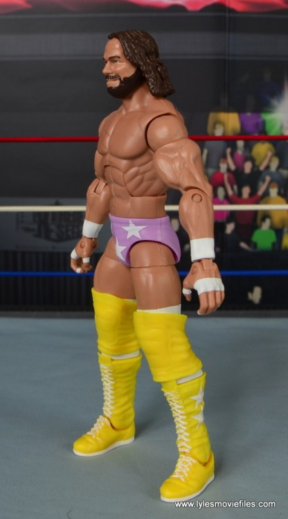 WWE Defining Moments Macho Man Randy Savage figure review -left side