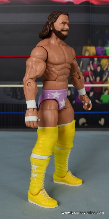WWE Defining Moments Macho Man Randy Savage figure review -right side