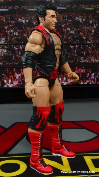 WWE Elite 51 Scott Hall figure review -right side