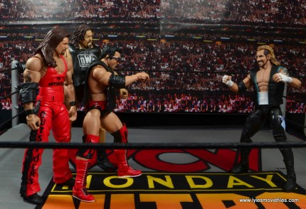 WWE Elite 51 Scott Hall figure review -taunting DDP