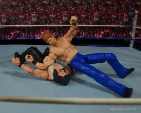 WWE Elite Isaac Yankem figure review -elbowdrop to Diesel