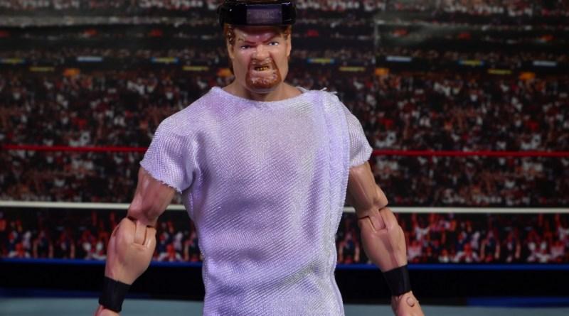WWE Elite Isaac Yankem figure review -main pic