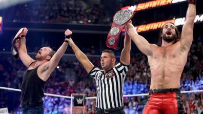 WWE Summerslam 2017 - Dean Ambrose and Seth Rollins