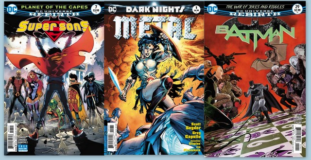 DC Comics reviews for 8/16/17