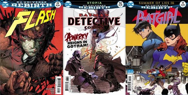 DC Comics reviews for 8/23/17