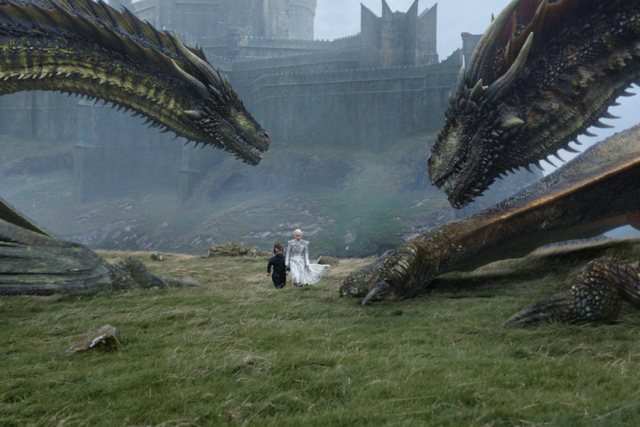 game-of-thrones-beyond-the-wall-Tyrion and Daenerys