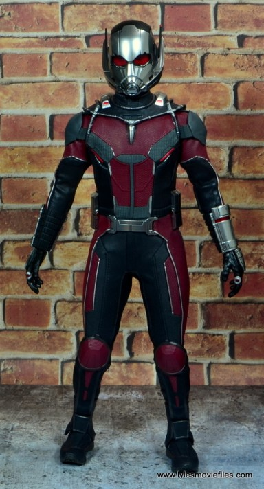 hot toys captain america civil war ant-man figure review - front