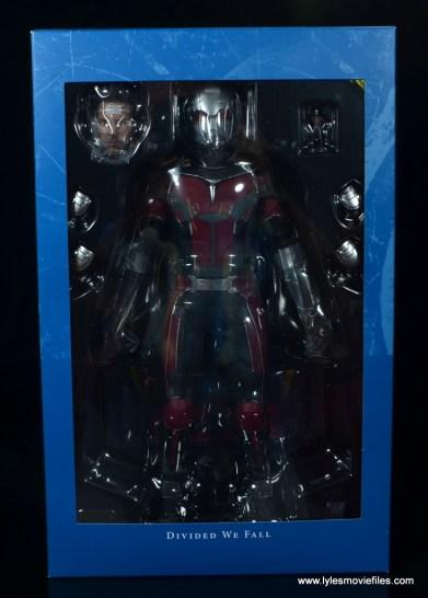 hot toys captain america civil war ant-man figure review -inner package