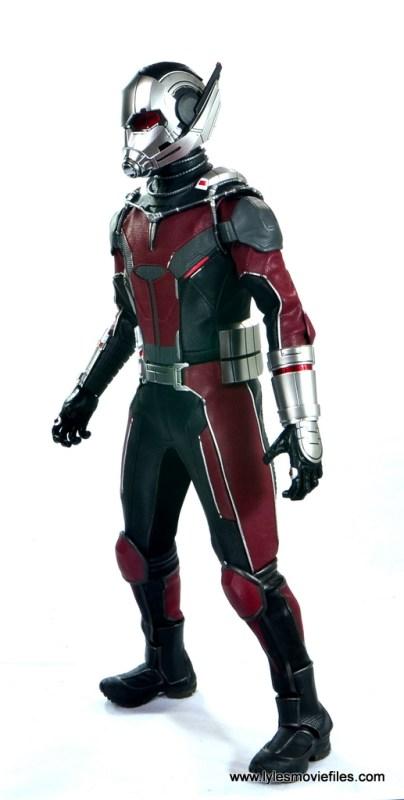 hot toys captain america civil war ant-man figure review -left side view