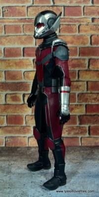 hot toys captain america civil war ant-man figure review -left side