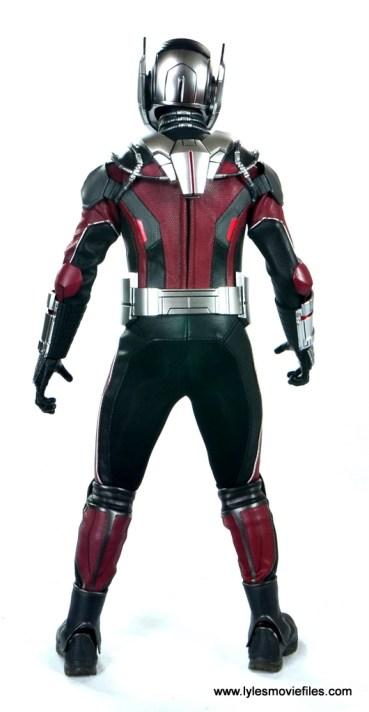 hot toys captain america civil war ant-man figure review -rear view