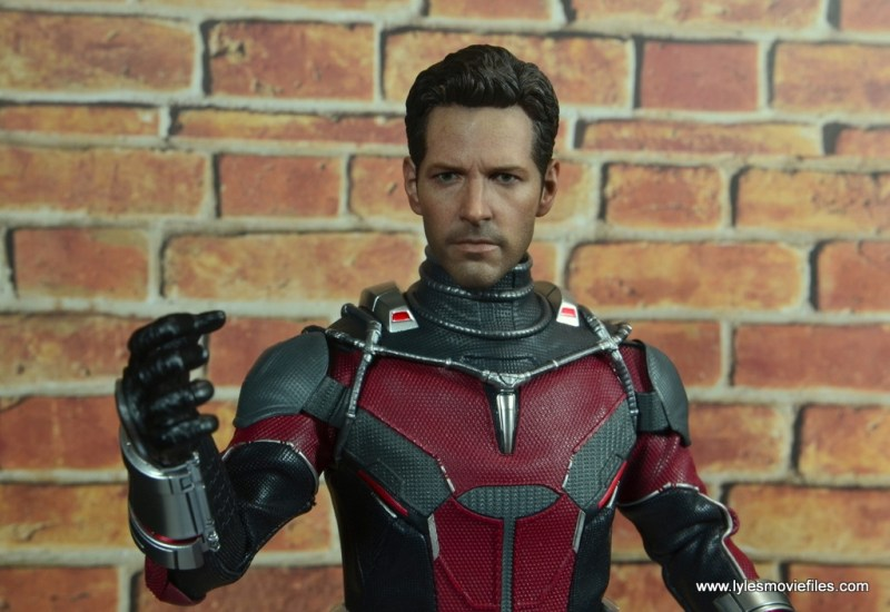 hot toys captain america civil war ant-man figure review -unmasked look