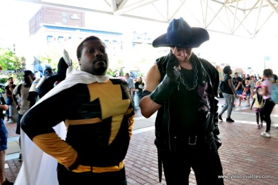 Baltimore Comic Con 2017 cosplay - Black Adam and