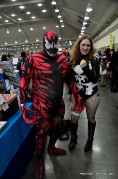 Baltimore Comic Con 2017 cosplay - Carnage and Punisher