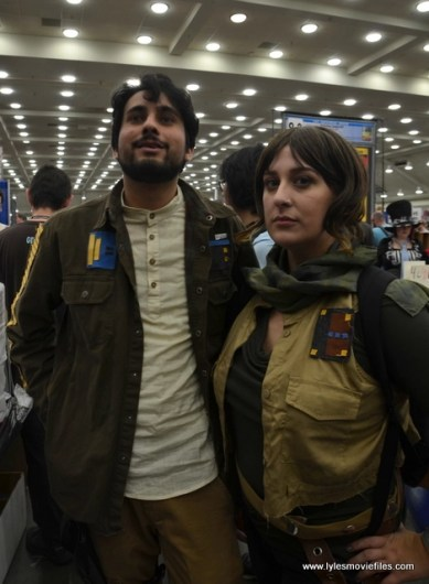 Baltimore Comic Con 2017 cosplay - Cassian and Jyn