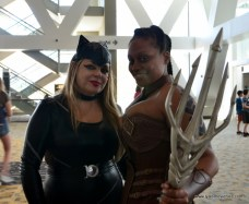 Baltimore Comic Con 2017 cosplay - Catwoman and Aquawoman