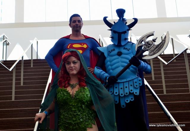 Baltimore Comic Con 2017 cosplay - Enchantress, Superman and Ares