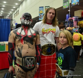 Baltimore Comic Con 2017 cosplay - Finn Balor, Rowdy Piper and Jeff Hardy
